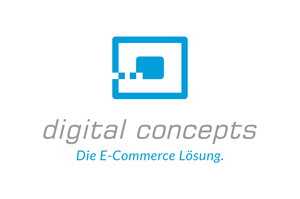 Logo digital concepts - Die E-Commerce Lösung.